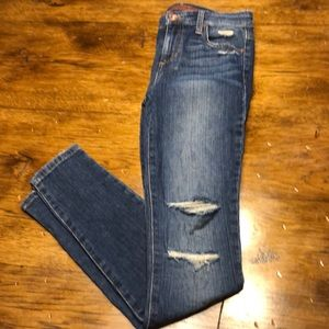 Joe's icon mid-rise skinny ankle jeans